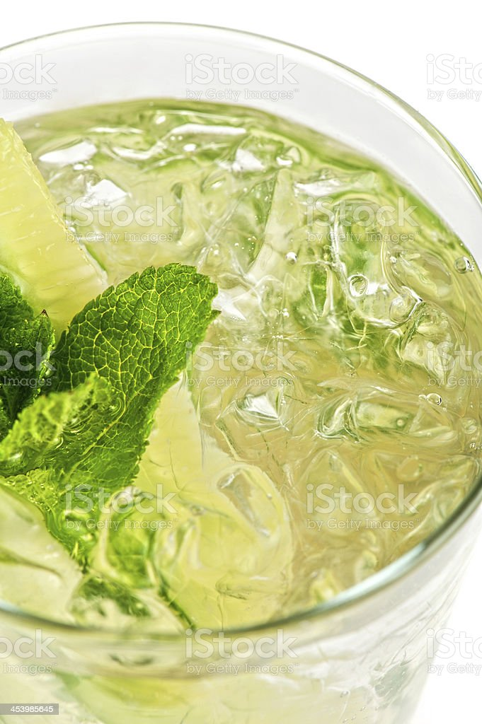 cocktail with cucumber royalty-free stock photo