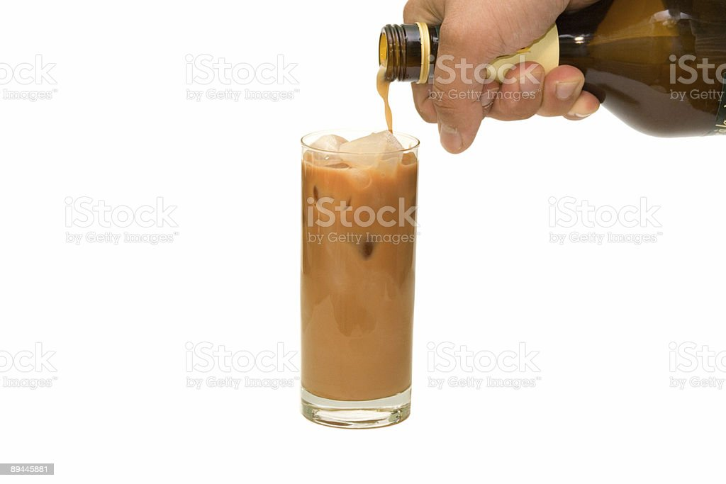 cocktail with ice royalty-free stock photo