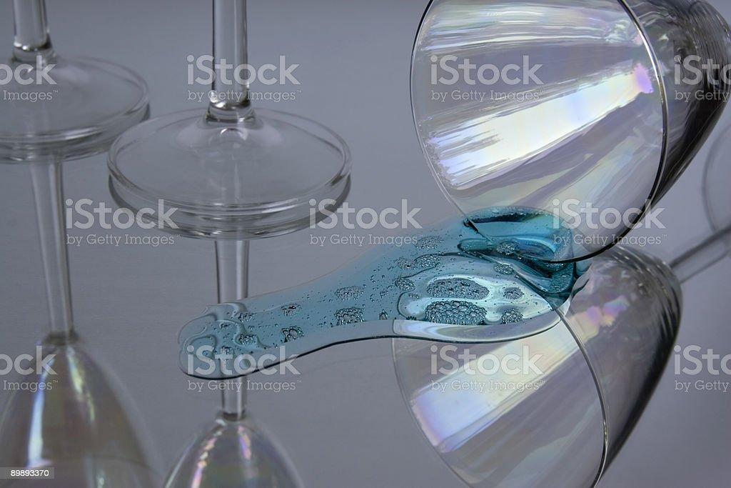 Cocktailglass royalty-free stock photo