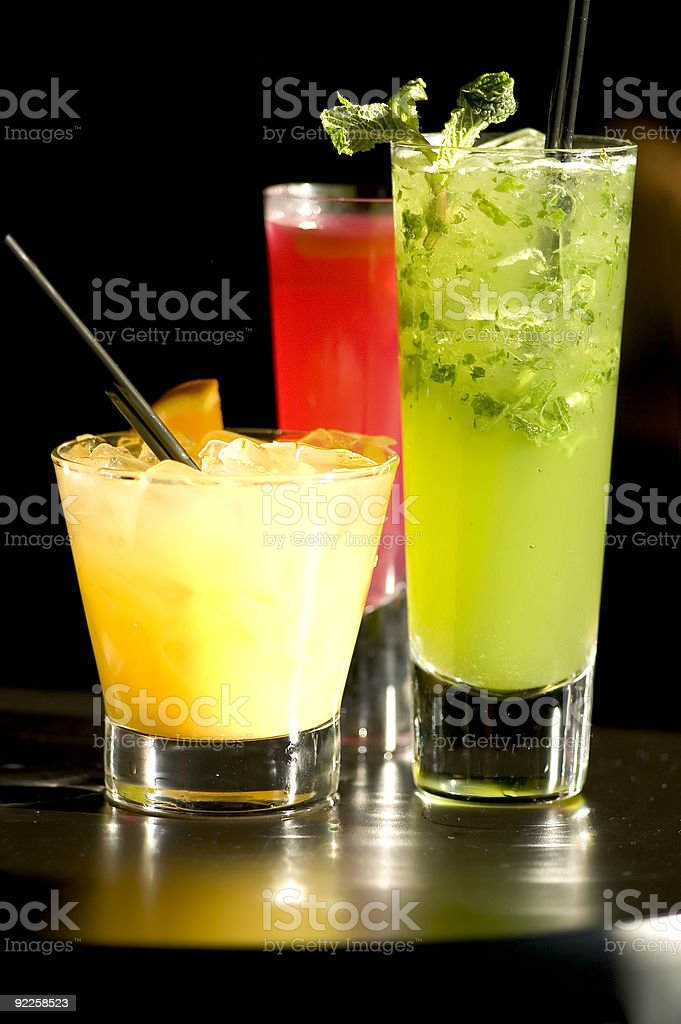 Cocktails at the Chapel 2 royalty-free stock photo