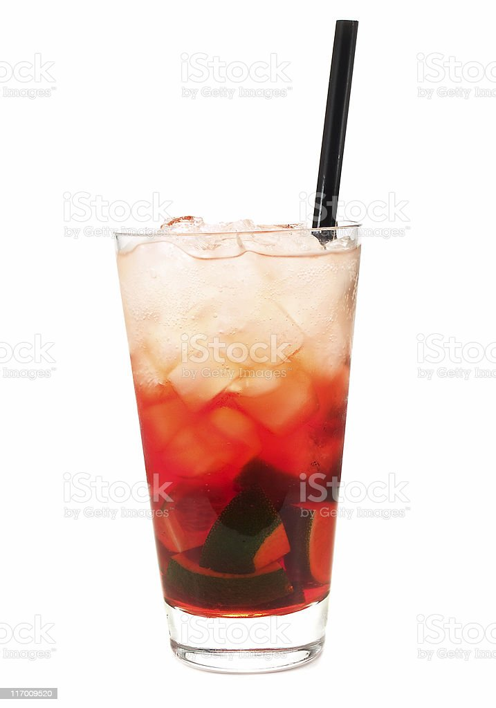 Cocktails Collection - Alabama Slammer royalty-free stock photo
