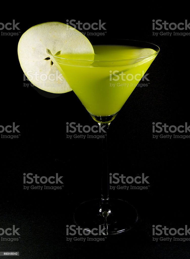 Cocktails Collection - Apple Martini royalty-free stock photo