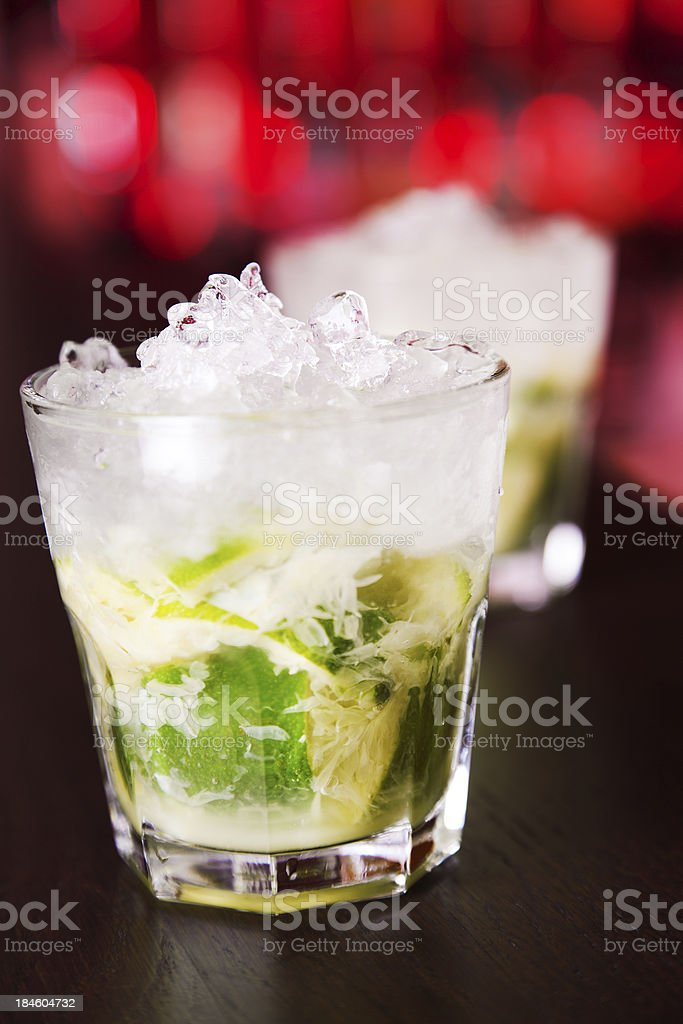 Cocktails Collection - Caipirinha royalty-free stock photo