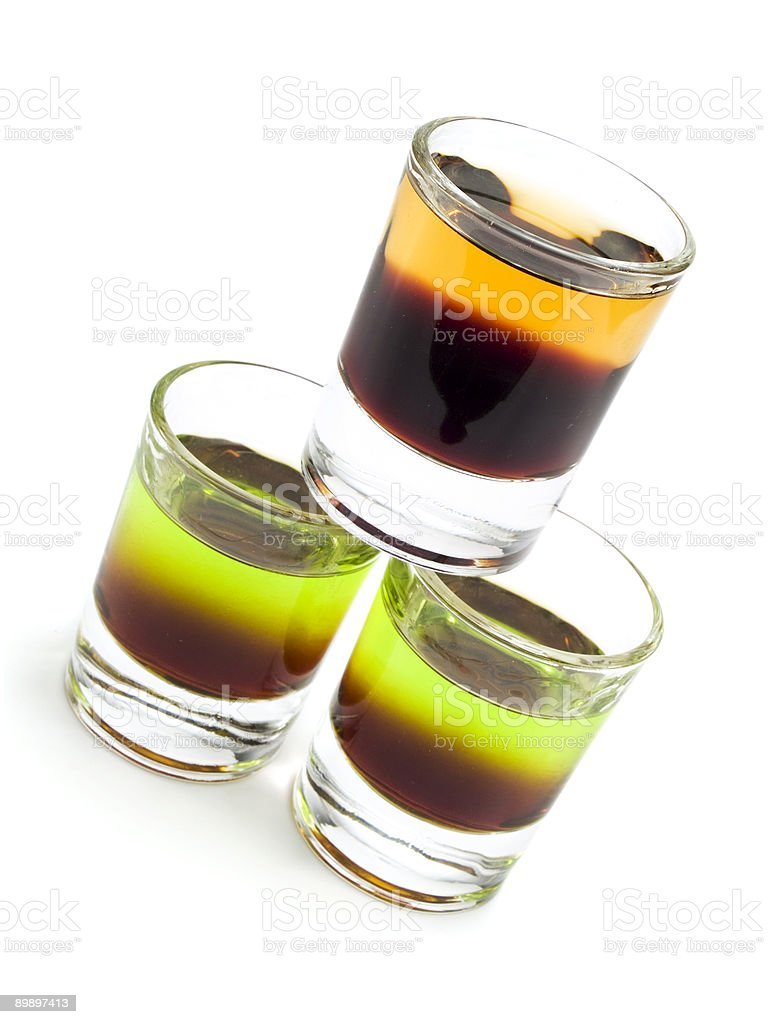 Cocktails Collection - Cockroach and Sh*t on Grass royalty-free stock photo