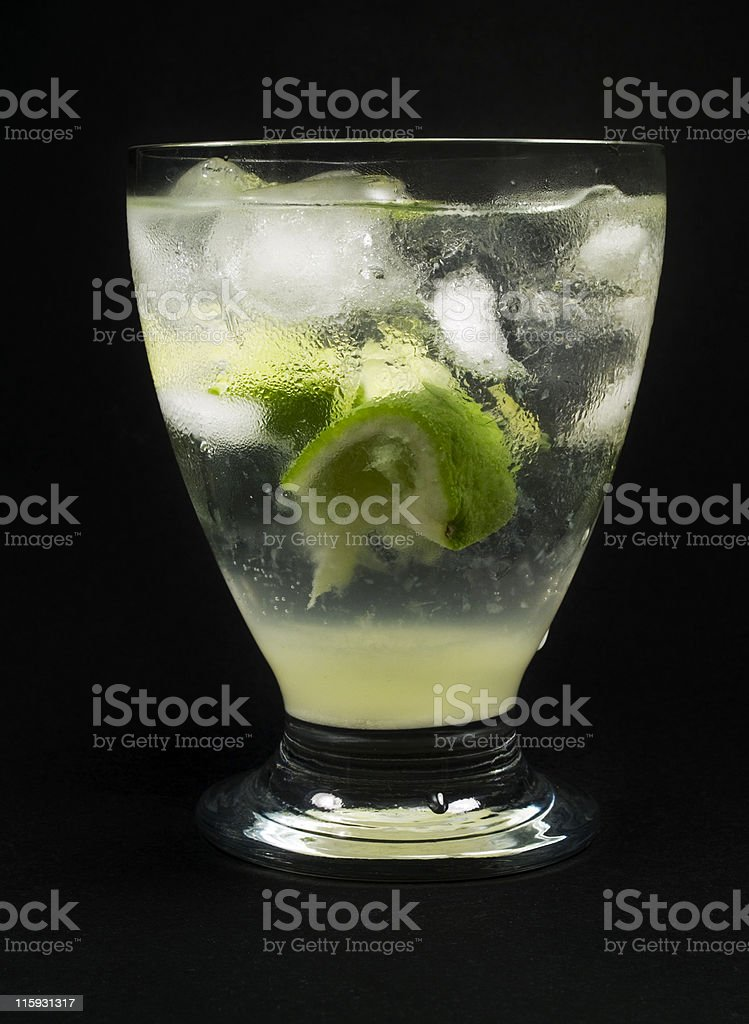 Cocktails Collection - Gimlet royalty-free stock photo
