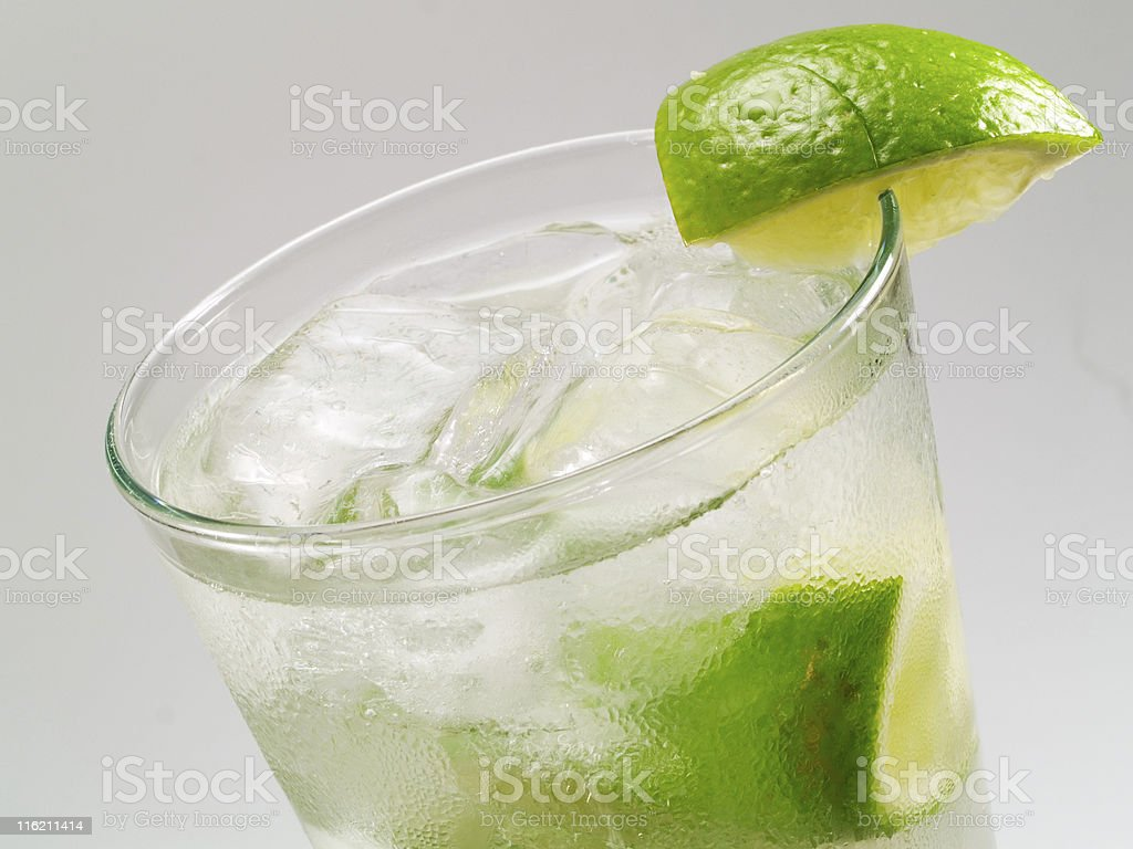 Cocktails Collection - Gin Rickey royalty-free stock photo