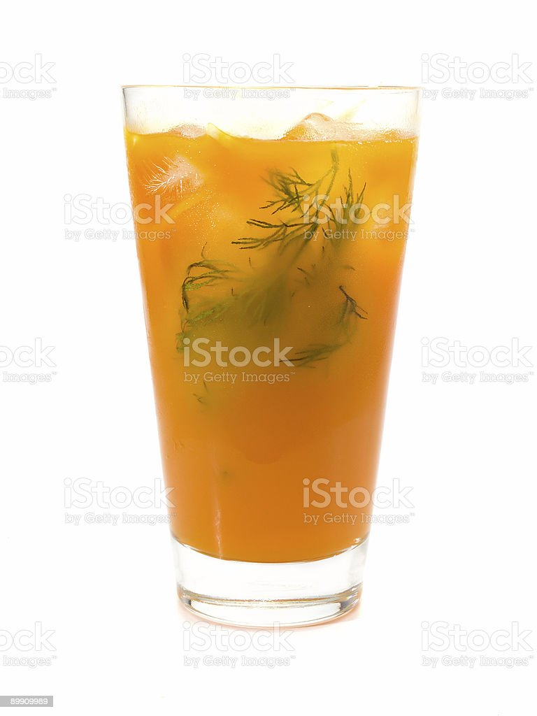 Cocktails Collection - Ginger Splice royalty-free stock photo