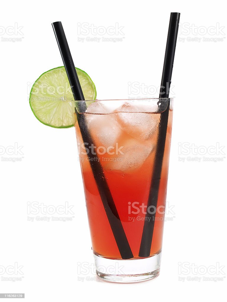 Cocktails Collection - Long Beach Iced Tea royalty-free stock photo