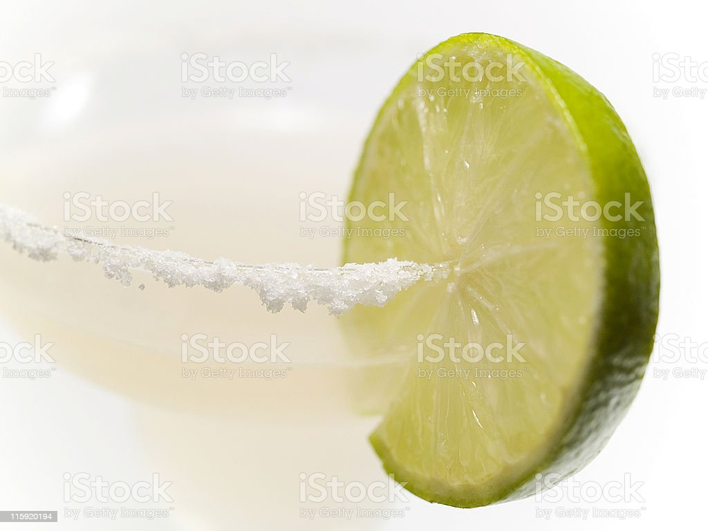 Cocktails Collection - Margarita (close up) royalty-free stock photo