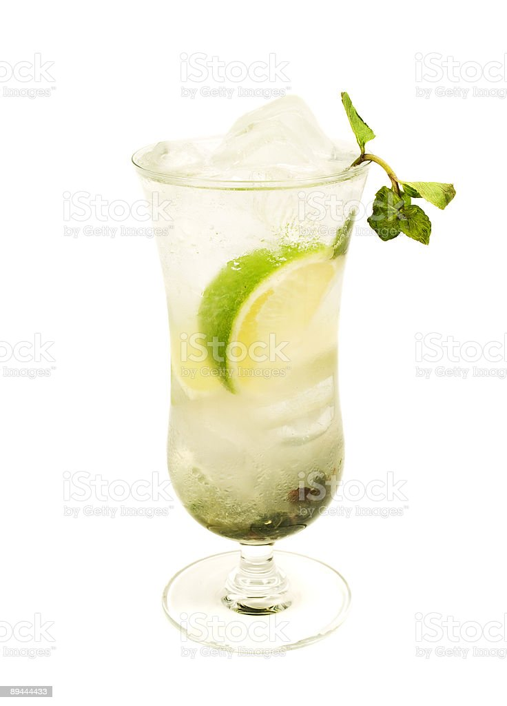 Cocktails Collection - Mojito royalty-free stock photo