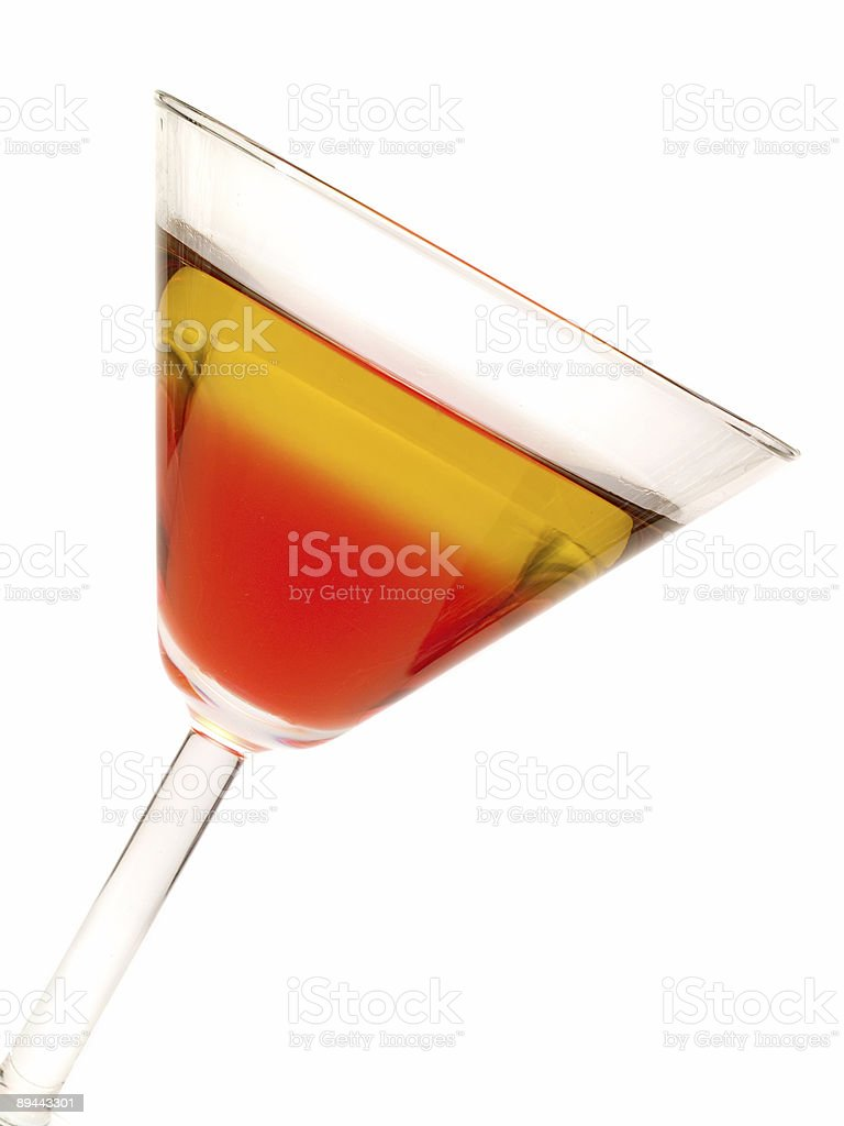Cocktails Collection - Rob Roy royalty-free stock photo