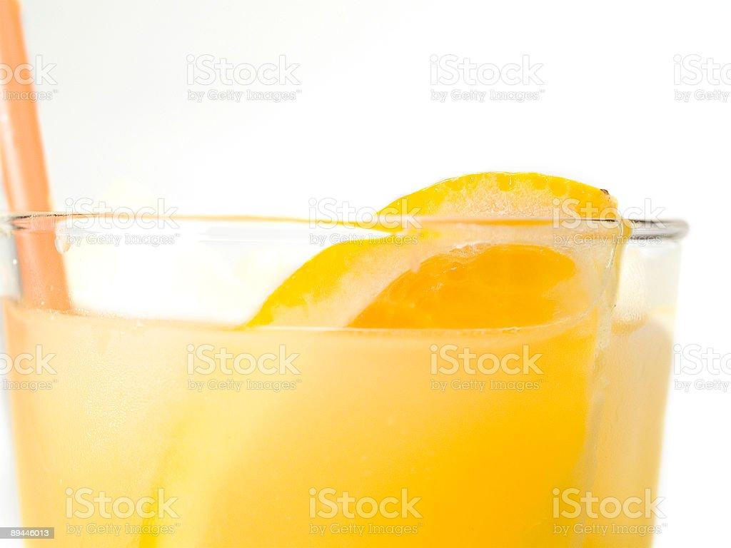 Cocktails collection - Screwdriver (close up) royalty-free stock photo