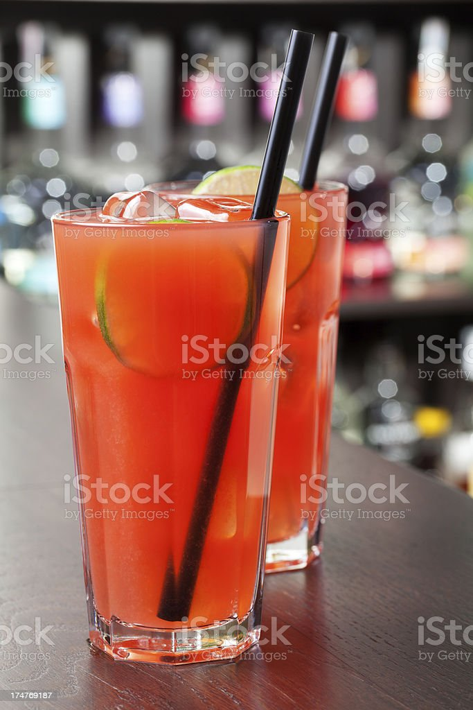 Cocktails Collection - Sea Breeze royalty-free stock photo