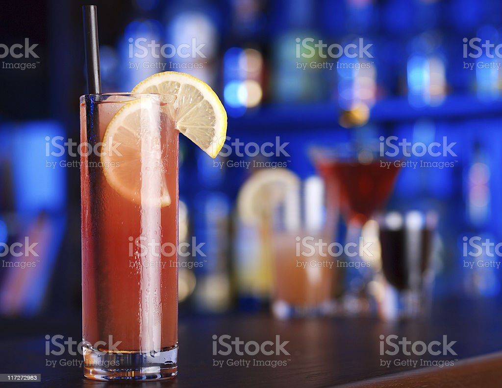 Cocktails Collection - Virgin Sex On The Beach stock photo