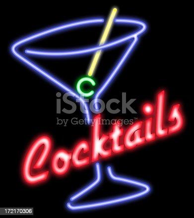 istock Cocktails neon 172170306
