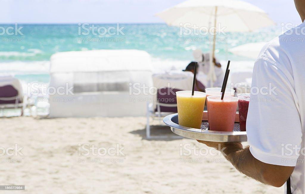 cocktails am Strand – Foto