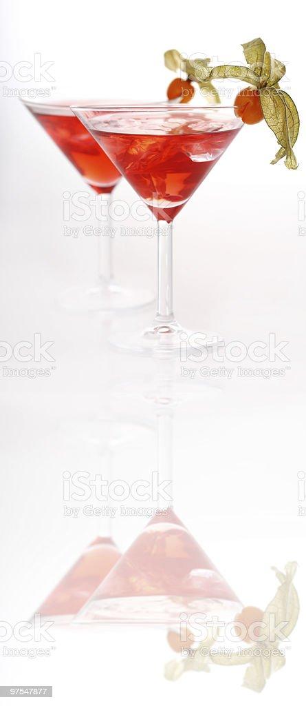 Des Cocktails photo libre de droits