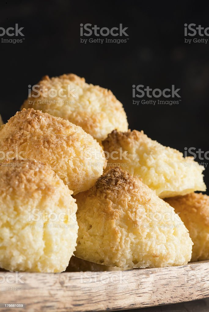 Cocnut almendrados foto de stock libre de derechos