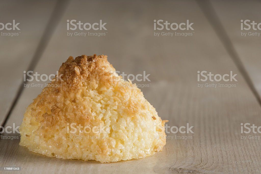Cocnut macaroons royalty-free stock photo