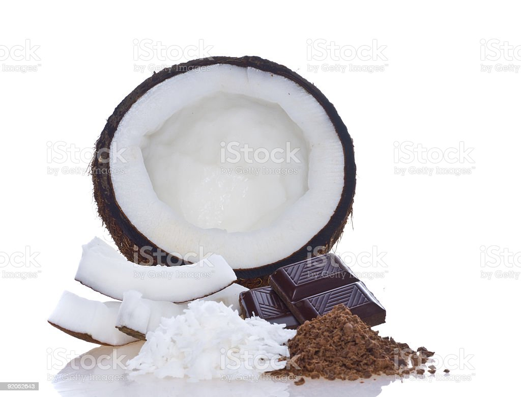 Coco pulp royalty-free stock photo