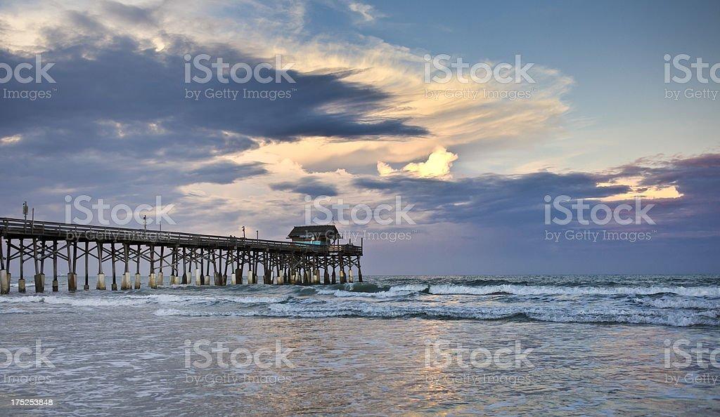 Cocoa Beach, Cape canaveral, Florida stock photo