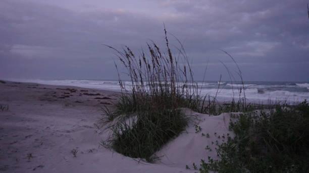 Cocoa Beach Evening stock photo