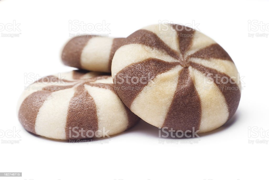Cocoa biscuits royalty-free stock photo