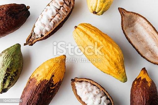 istock Cocoa pod 1040395024