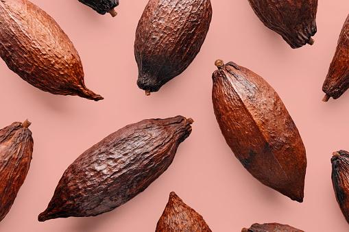 istock Cocoa pod 1068687450