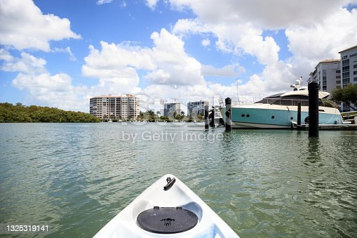 istock Cocohatchee River leads out to the ocean in Naples, Florida 1325319141