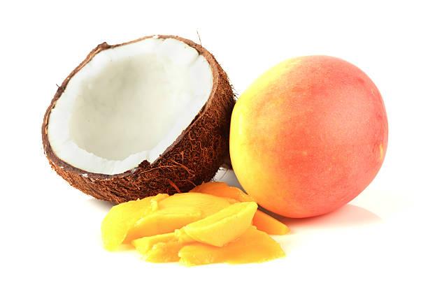 Kokosnuss und Mango – Foto