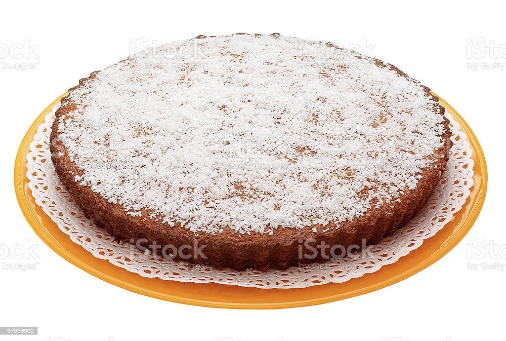 Torta al cocco royalty-free stock photo