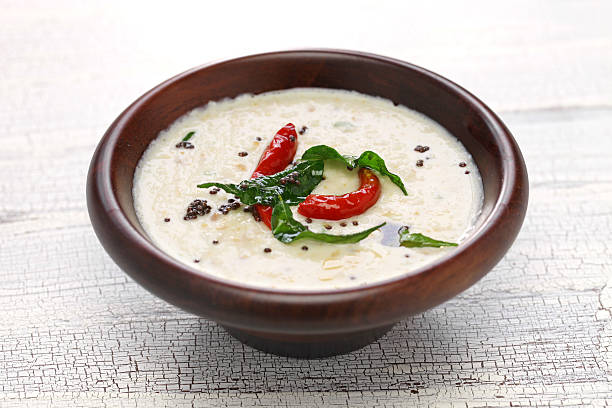 coconut chutney, indian food