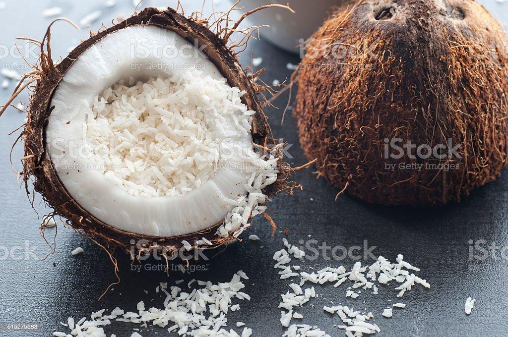 Coconut Flakes bildbanksfoto