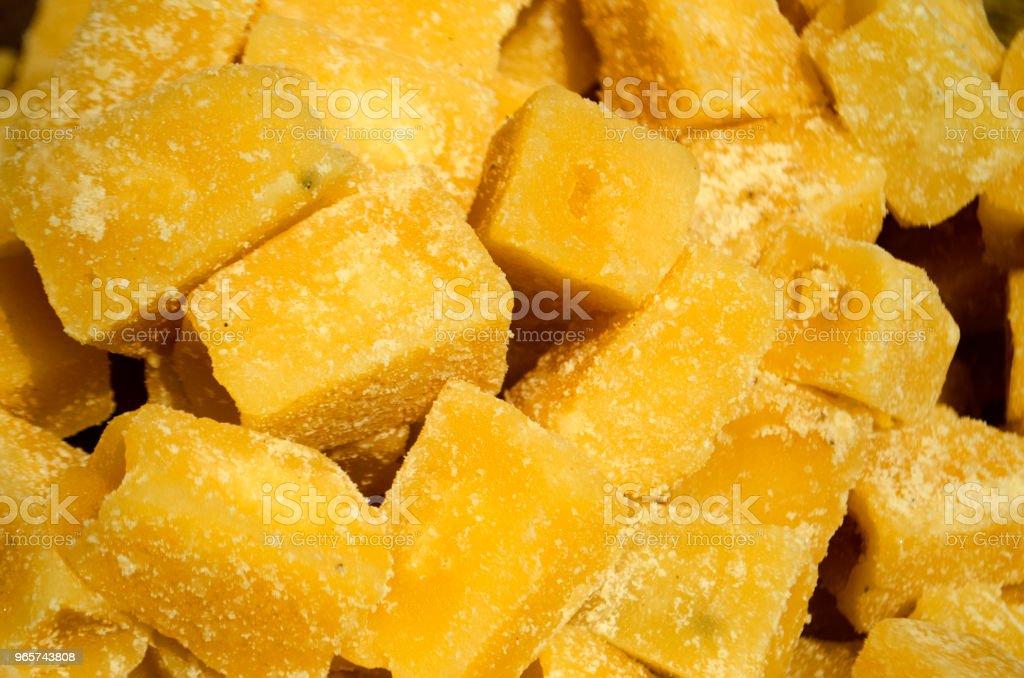 Kokosnoot bloem suiker - Royalty-free Afvallen Stockfoto
