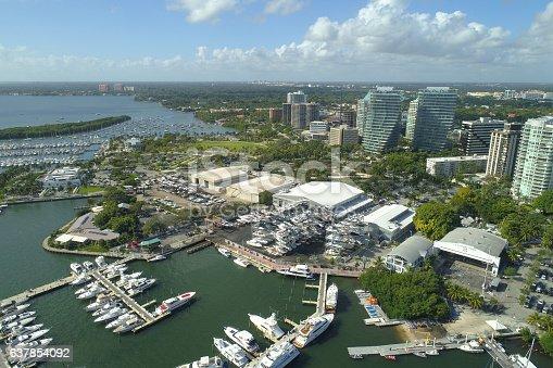 Aerial image of Coconut Grove Miami FL