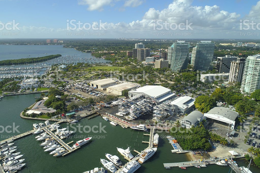 Coconut Grove stock photo
