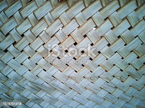 istock Coconut leaves for temporary wall. 1078701318