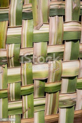 istock coconut leaves weave pattern 485175092
