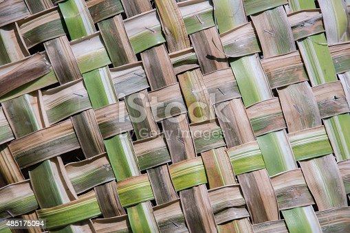 istock coconut leaves weave pattern 485175094
