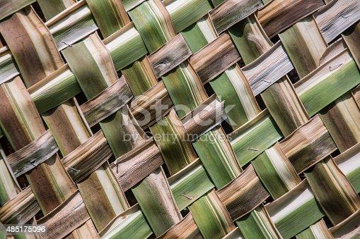 istock coconut leaves weave pattern 485175096