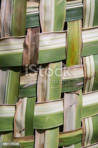 istock coconut leaves weave pattern 485175548