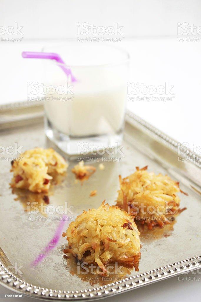 Coconut Macaroons royalty-free stock photo