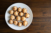 istock Coconut Macaroons - Traditional Passover dessert 1302897799