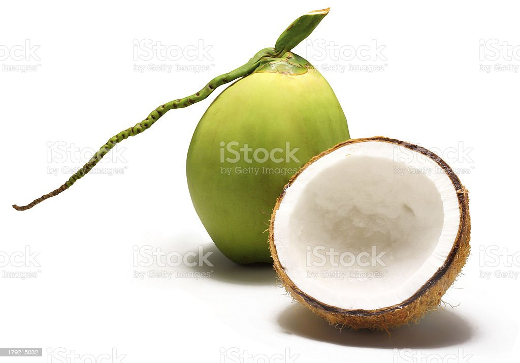 Coconut milk royalty-free stock photo