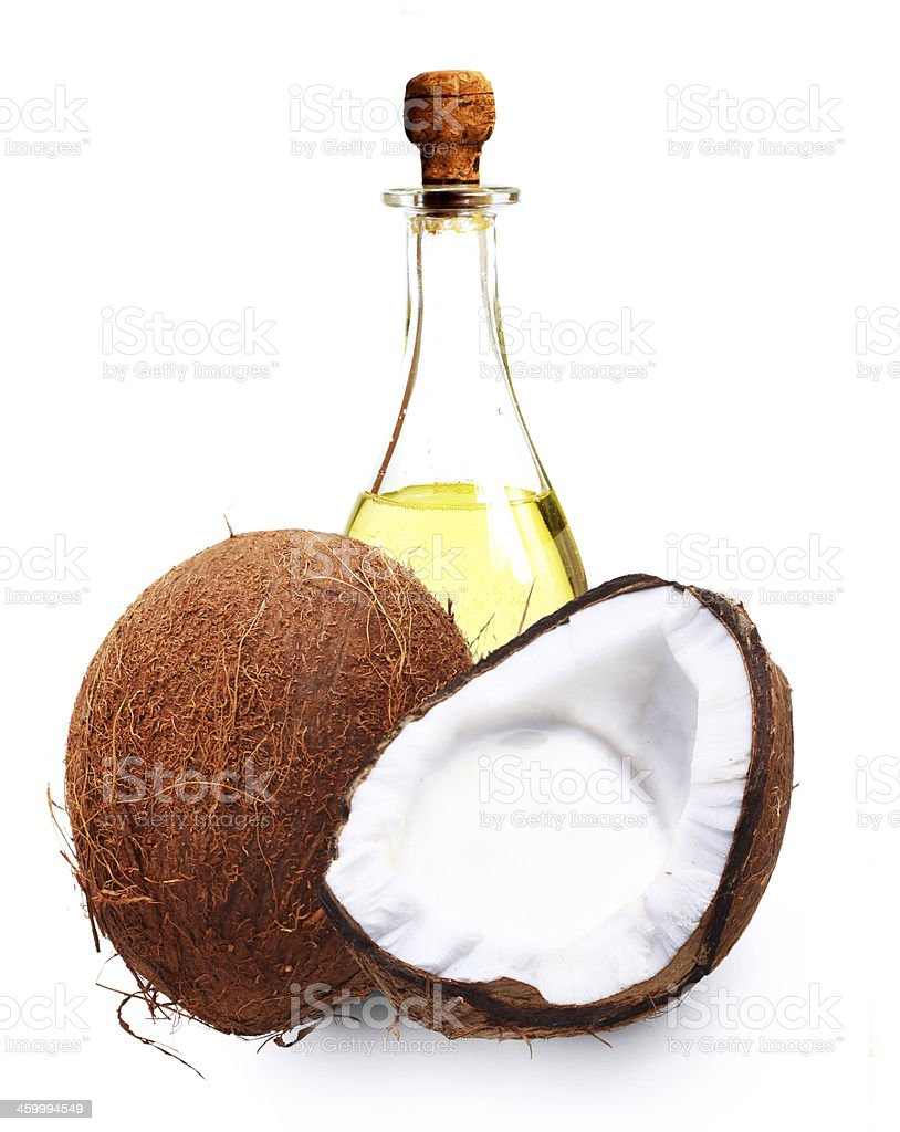 Coconut oil. royalty-free stock photo