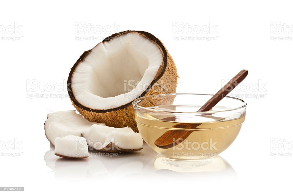 Coconut oil royalty-free stock photo