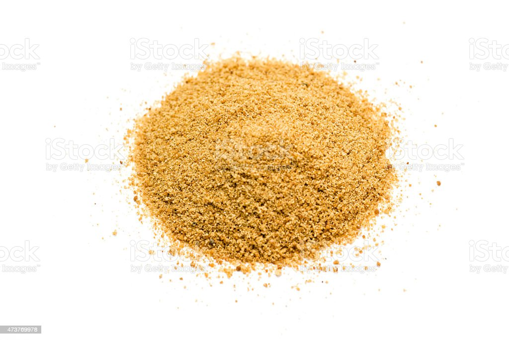 Coconut palm sugar stock photo