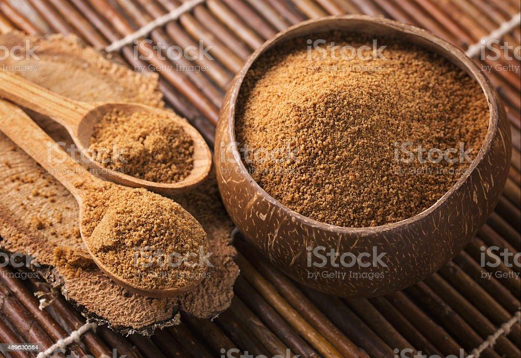 Zucchero di palma da cocco - Foto stock royalty-free di 2015