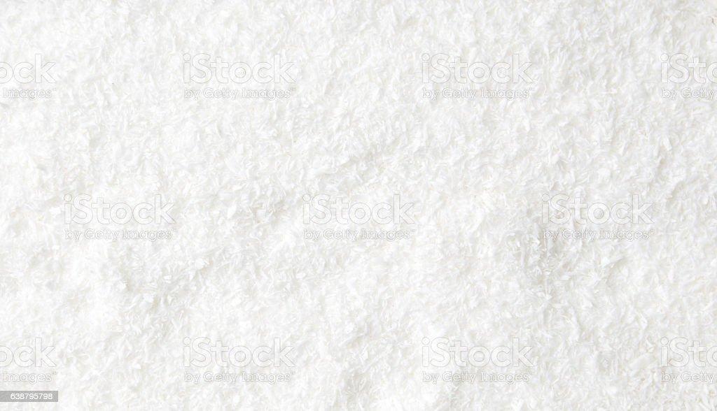 Coconut powder background stock photo